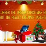 セール情報 - GEARBESTのクリスマスセール、8インチデュアルブートタブレットが1万円切り!
