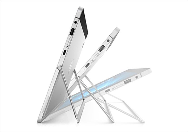 HP Elite X2 キックスタンド角度調整