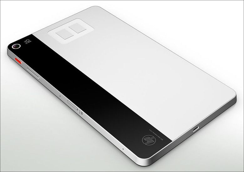 HP ENVY 8 Note 本体背面