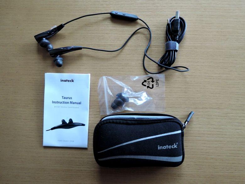 inateck Bluetooth ヘッドセット BH1001 同梱物