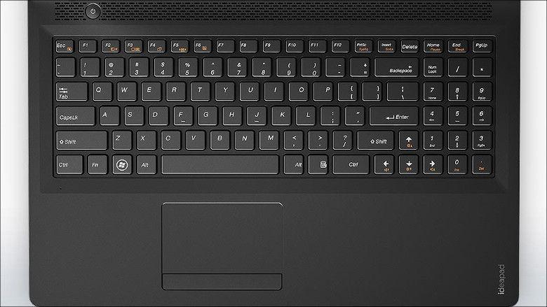 Lenovo ideapad 100 キーボード