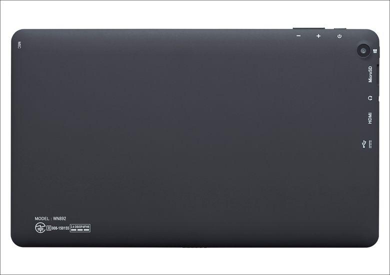 マウスコンピューター WN892 背面