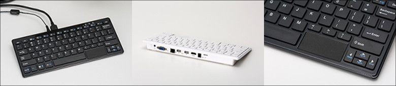テックウインド キーボードPC WP004