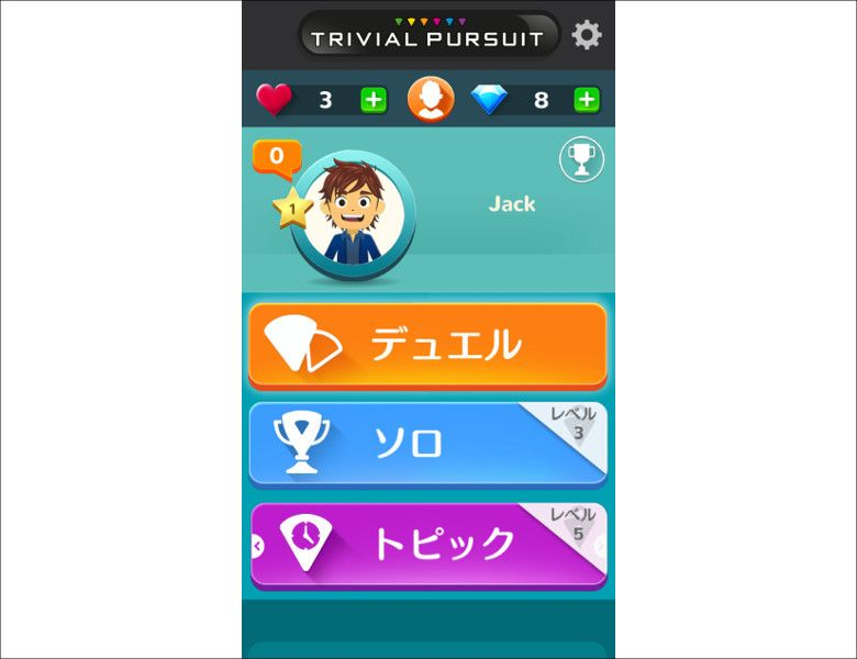 Trivial Pursuit ゲーム種類