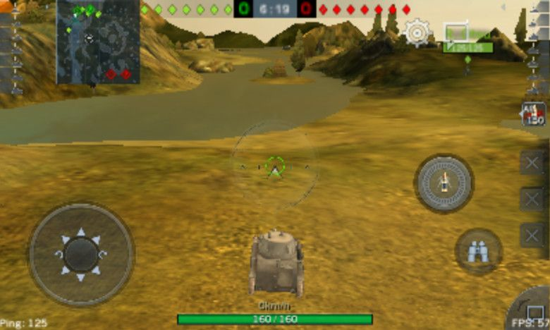 World of Tanks Blitz スマホで