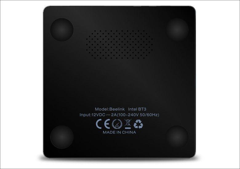 Beelink Intel BT3 TV Box 底面