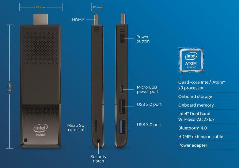Intel Compute Stick Atom