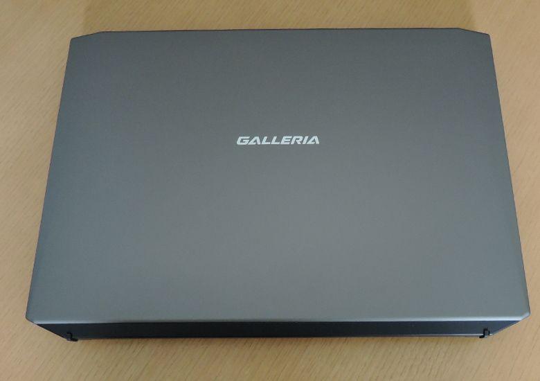 ドスパラ GALLERIA QHF960HE 天板