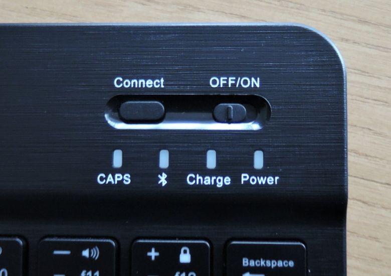 EC Technology Bluetoothキーボード スイッチ類