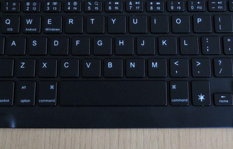 EC Technology Bluetoothキーボード Windowsキー無し
