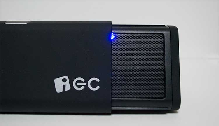 iEC Technology 伸縮型 Bluetoothスピーカー LED
