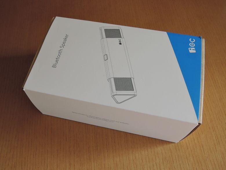 iEC Technology 伸縮式Bluetooth スピーカー 外箱