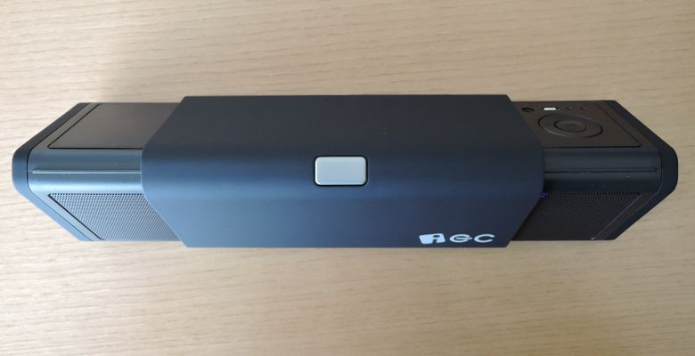 iEC Technology 伸縮式Bluetooth スピーカー 上から