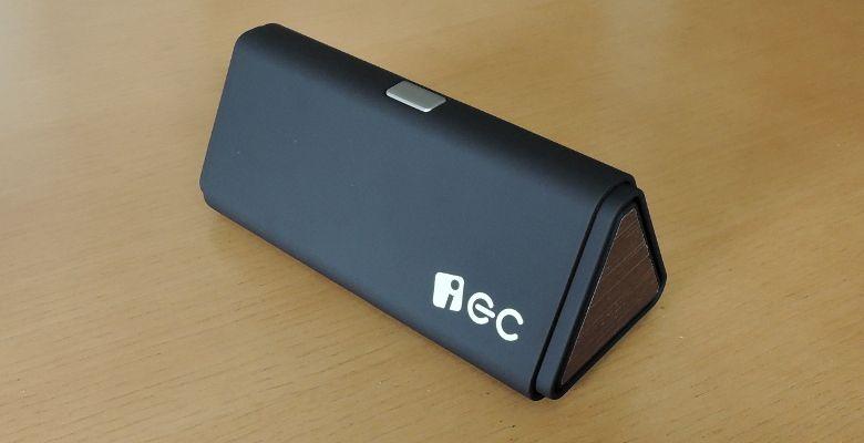 iEC Technology 伸縮式Bluetooth スピーカー 収納時