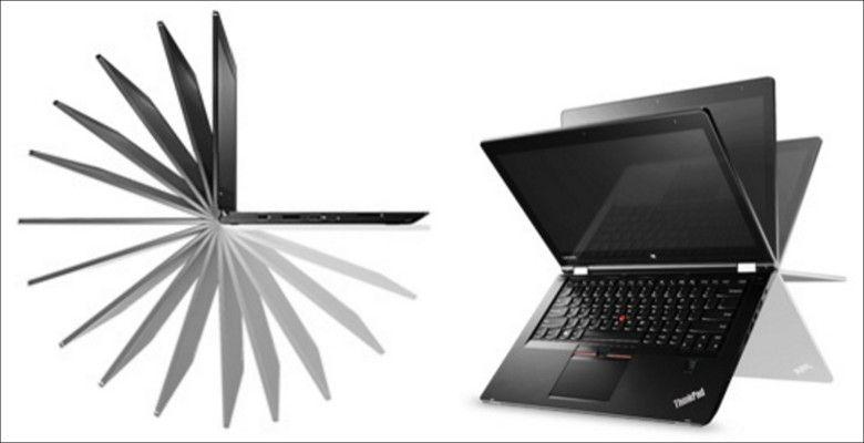 ThinkPad P40 Yoga 変形イメージ