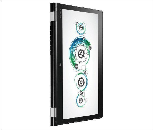 Lenovo thinkPad P40 Yoga タブレットモード