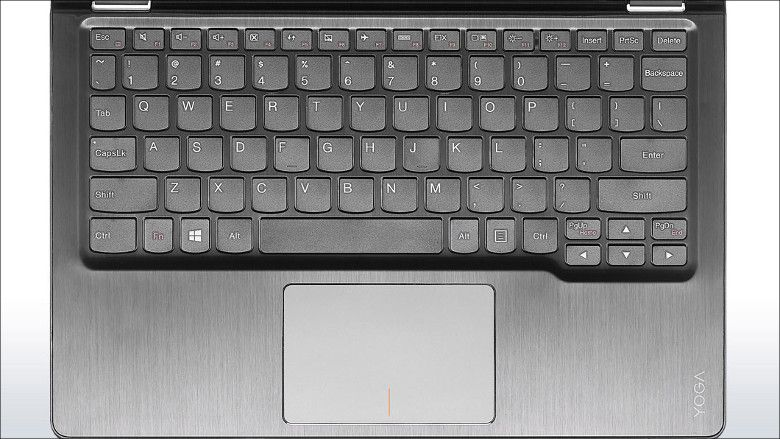 Lenovo Yoga 700 キーボード