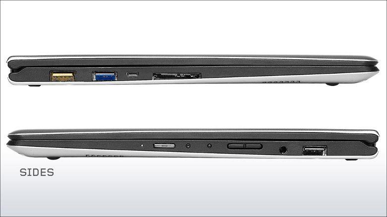 Lenovo Yoga 700 側面