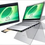 Panasonic Let's Note MX 5 - 12.5インチキーボード非分離型2 in 1、こっちもスゲー!