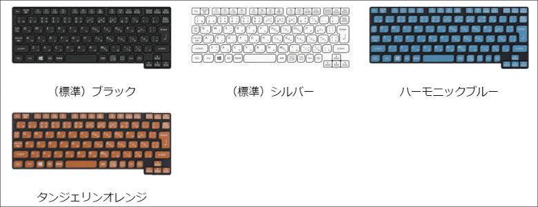 Panasonic Let's Note RZ5 キーボードカラー