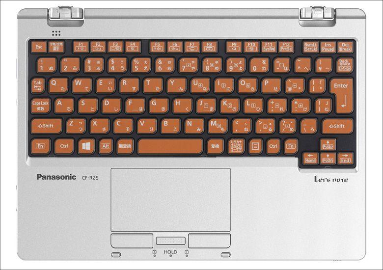Panasonic Let's Note RZ5 キーボード