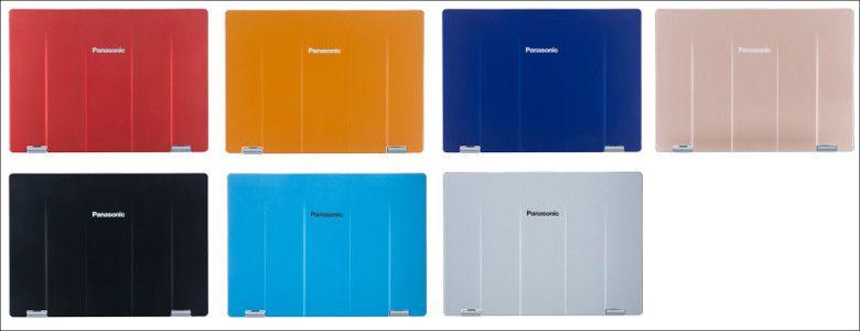 Panasonic Let's Note RZ5 天板オプション