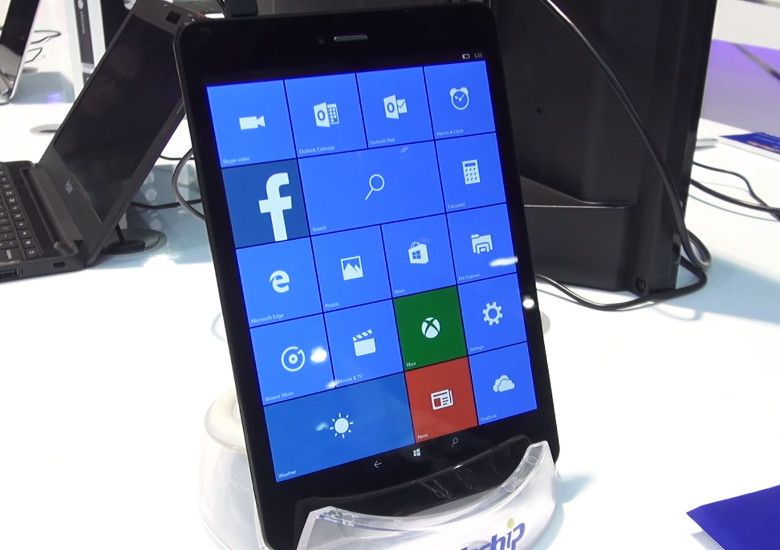 PIPO U8T Windows 10 Mobile