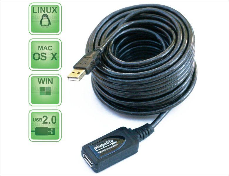 Plugable Technologies USB延長ケーブル