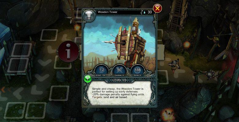 Prime World Defenders タワーのカード