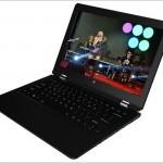 Vido W11 Pro 3 - 11.6インチキーボード非分離型 2 in 1、質感高そうよ!
