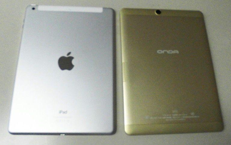 iPad Air との外観比較2