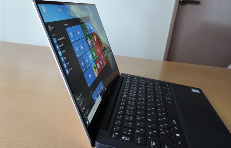 DELL XPS 13 視野角の広さ