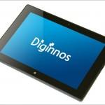 ドスパラ Diginnos DG-D09IW2SL -8.9インチWindowsタブレット、格段に強化されたよ!