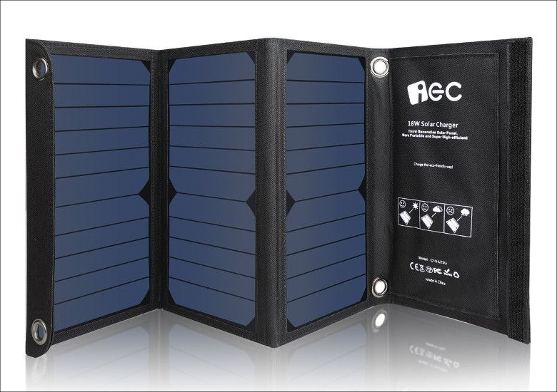 EC Technology USBソーラーチャージャー