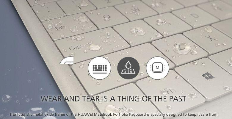 Huawei MateBook キーボード ホワイト拡大