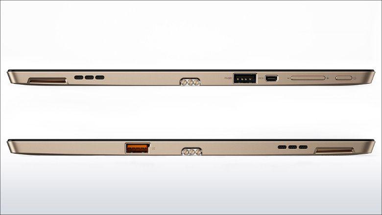 Lenovo ideapad MIIX 700 側面