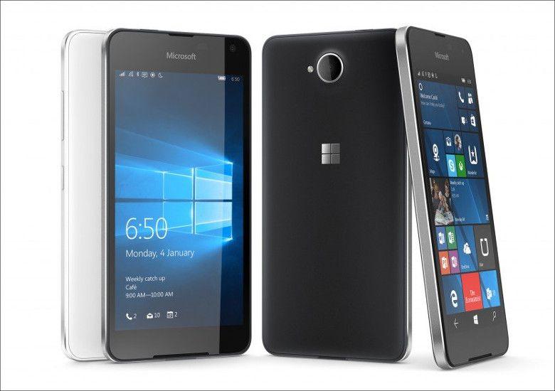 Microsoft Lumia 650 筐体