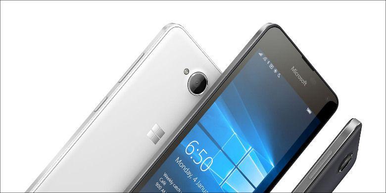 Microsoft Lumia 650 筐体側面