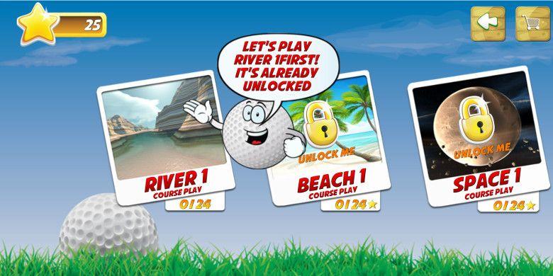 Mini Golf Stars 2 ステージ選択