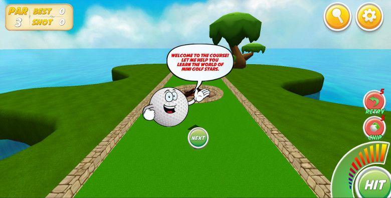 Mini Golf Stars 2 チュートリアル