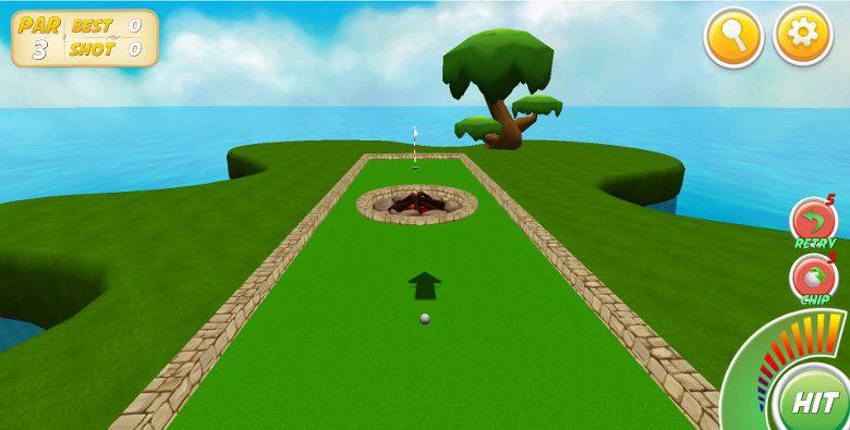 Mini Golf Stars 2 第1ホール