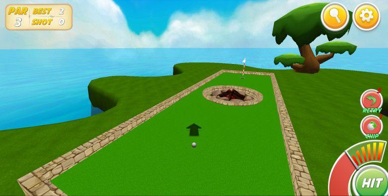 Mini Golf Stars 2 第1打