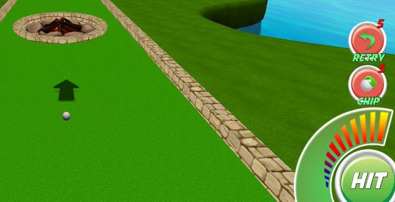 Mini Golf Stars 2 パワーアップ
