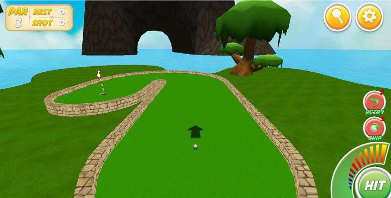 Mini Golf Stars 2 ジャンプ用