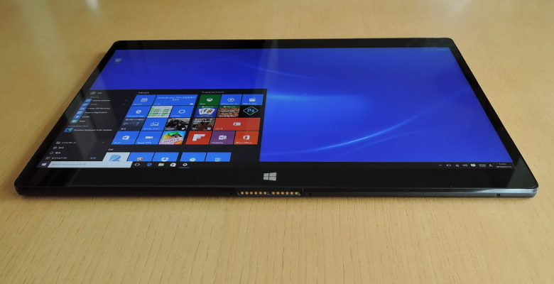 DELL XPS 12 底面