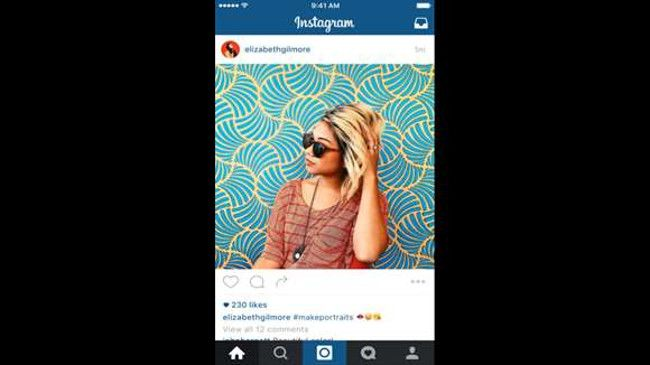 Instagram BETA スクリーンショット