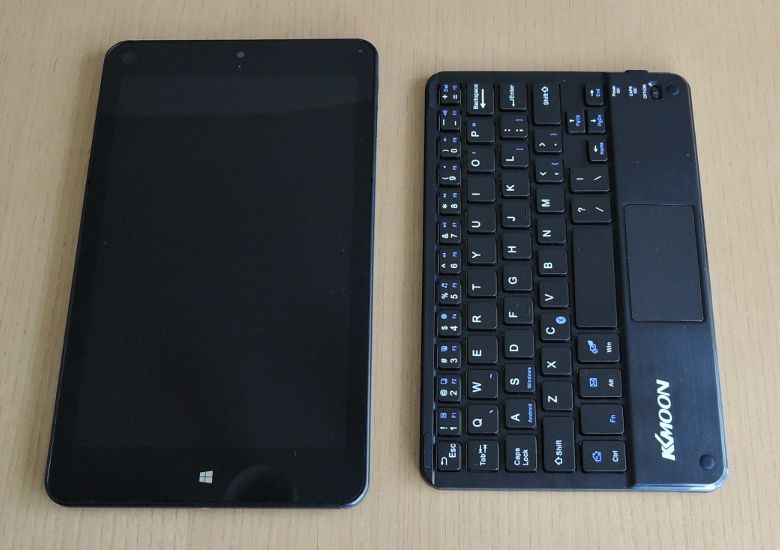 KKmoon Bluetooth キーボード とThinkPad 8