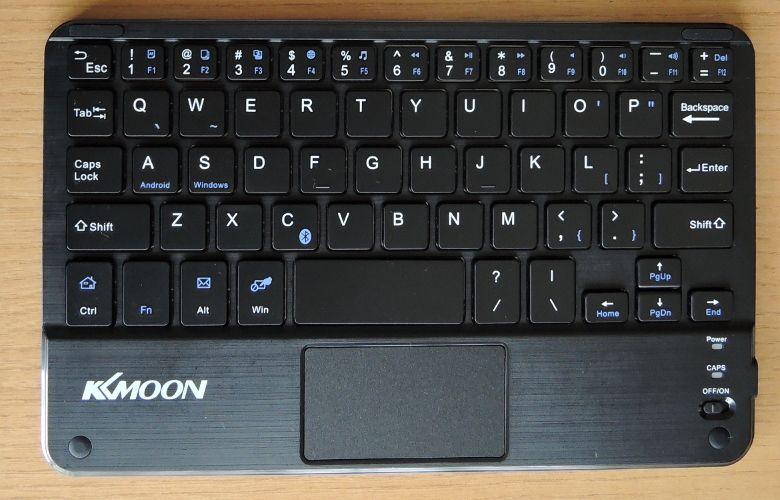 KKmoon Bluetooth キーボード 拡大