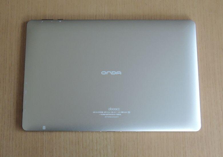 ONDA oBook 10 背面