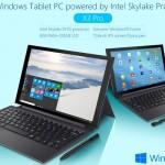 Teclast X3 Pro - Core m 搭載、ハイスペック中国タブレット、そして価格もハイスペック